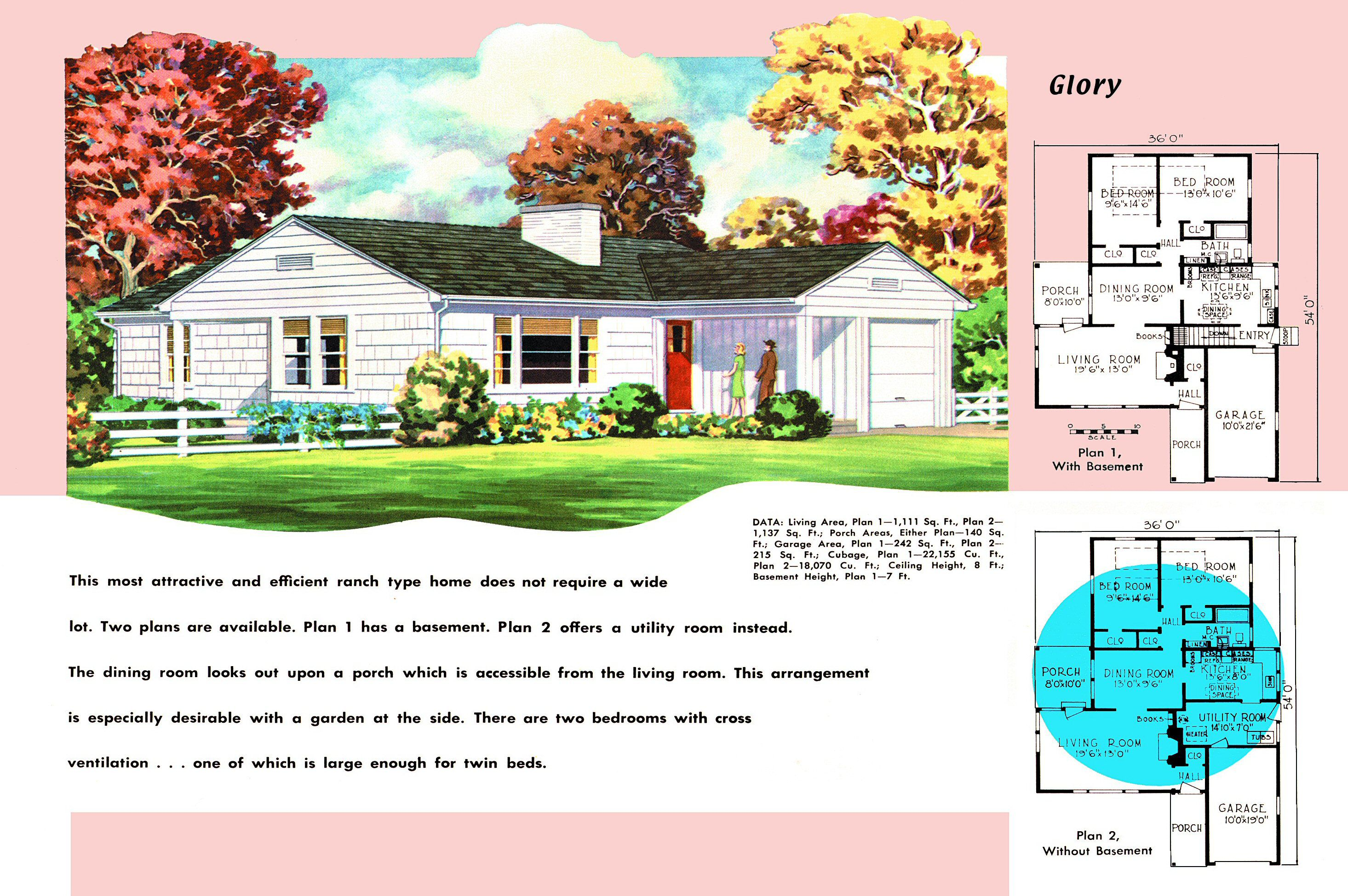1950s House Plans for Por Ranch Homes on ranch house landscaping, ranch house bathroom, ranch house curb appeal ideas, ranch house flooring, ranch house blueprints, ranch house elevation plans, ranch house plans with porches, ranch house kitchen design, ranch style house plans 2013, ranch house plans awesome, ranch house lighting, ranch house furniture, ranch house interior design, ranch house foundations,