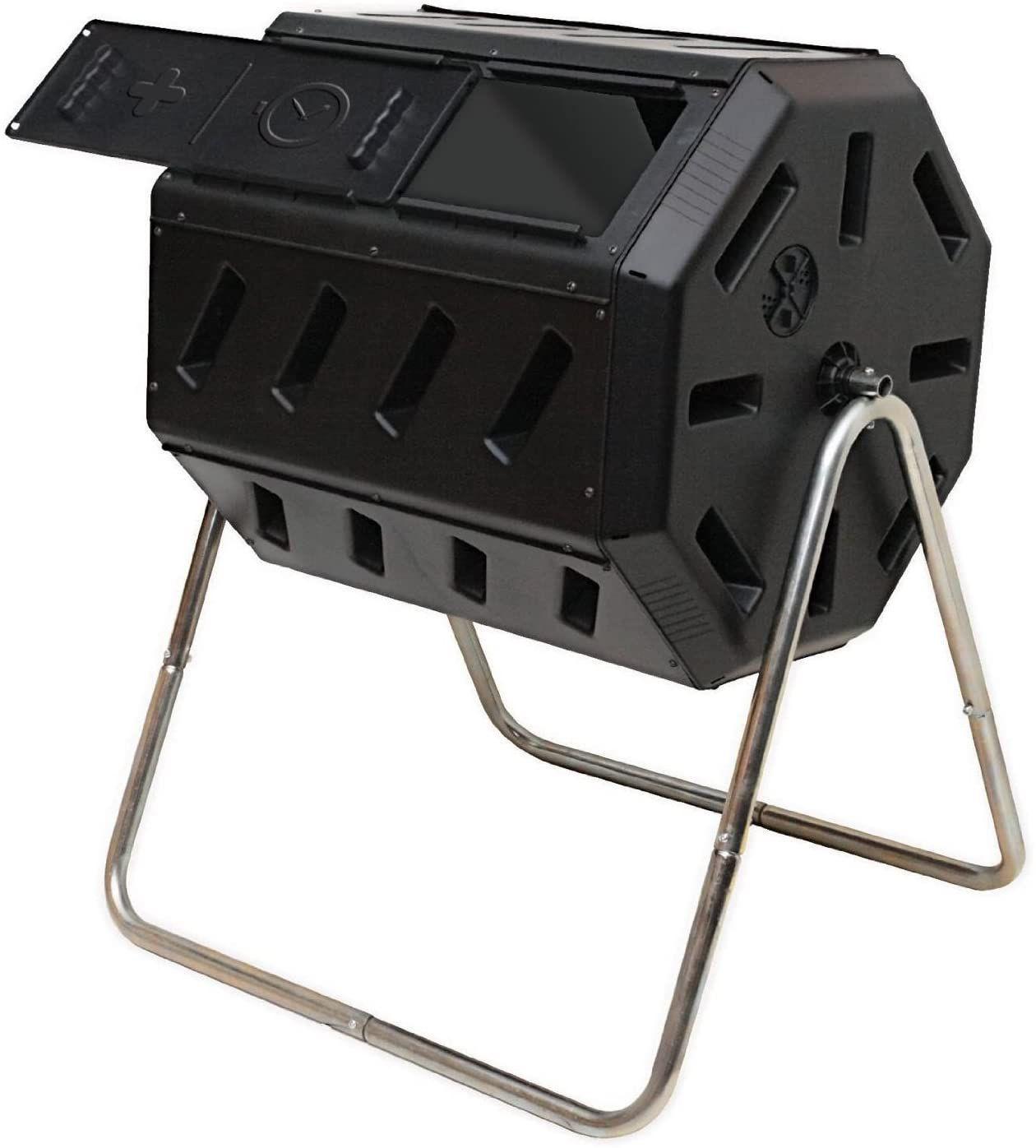 Dual Chamber Tumbling Composter