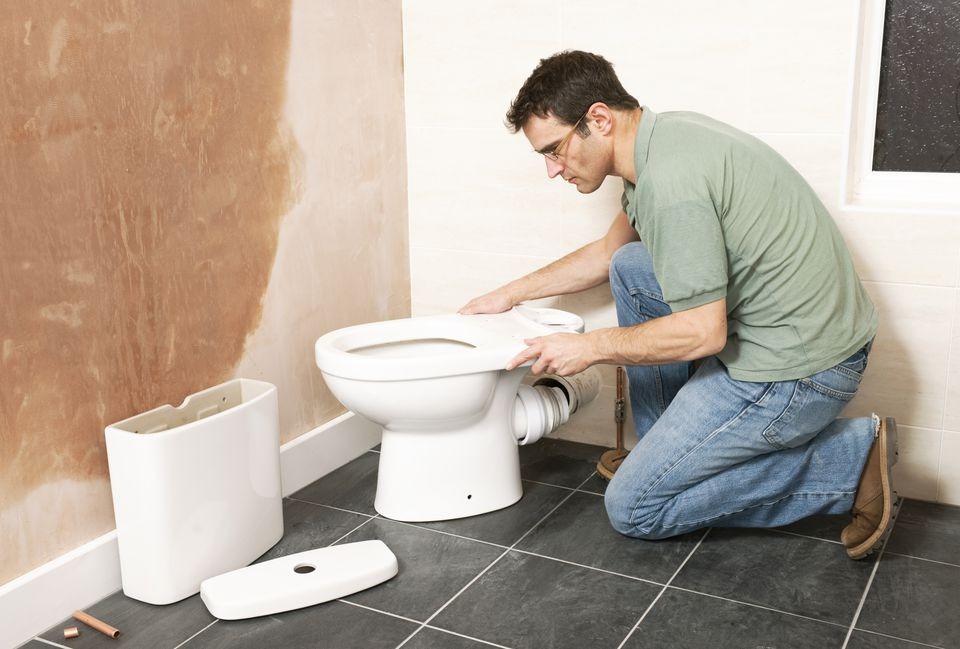 How To Move A Toilet Minimize Cost And Mess - Cost to install new bathroom