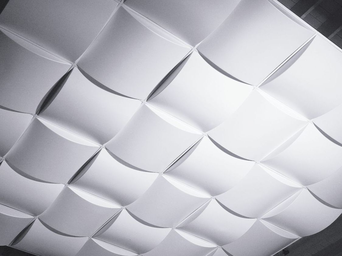 Image of: 3d Drop Ceiling Panels Give Home A Modern Look