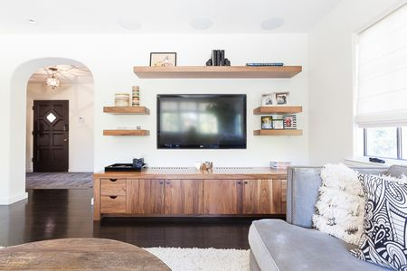 Pleasing How To Decorate Around A Tv Home Interior And Landscaping Ologienasavecom