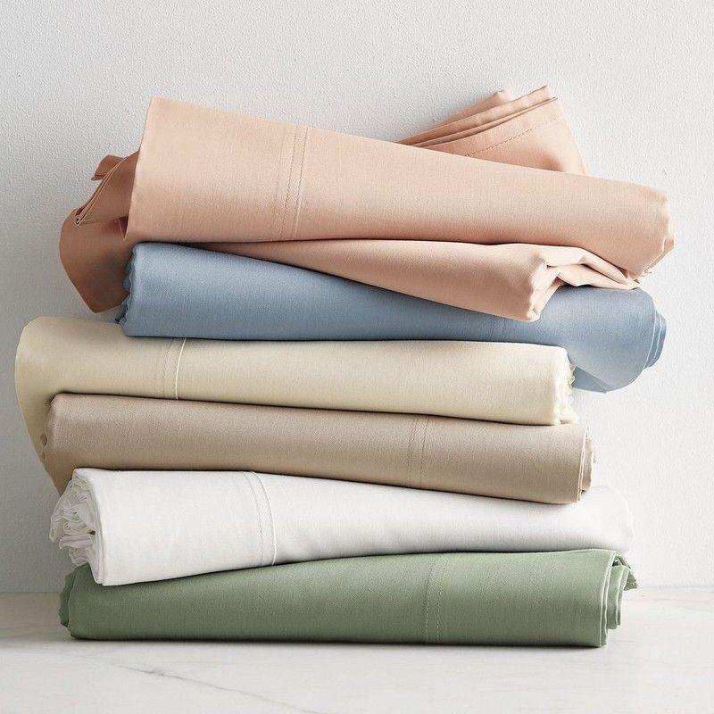 The Company Store Company Cotton Bamboo Sateen Sheet Set