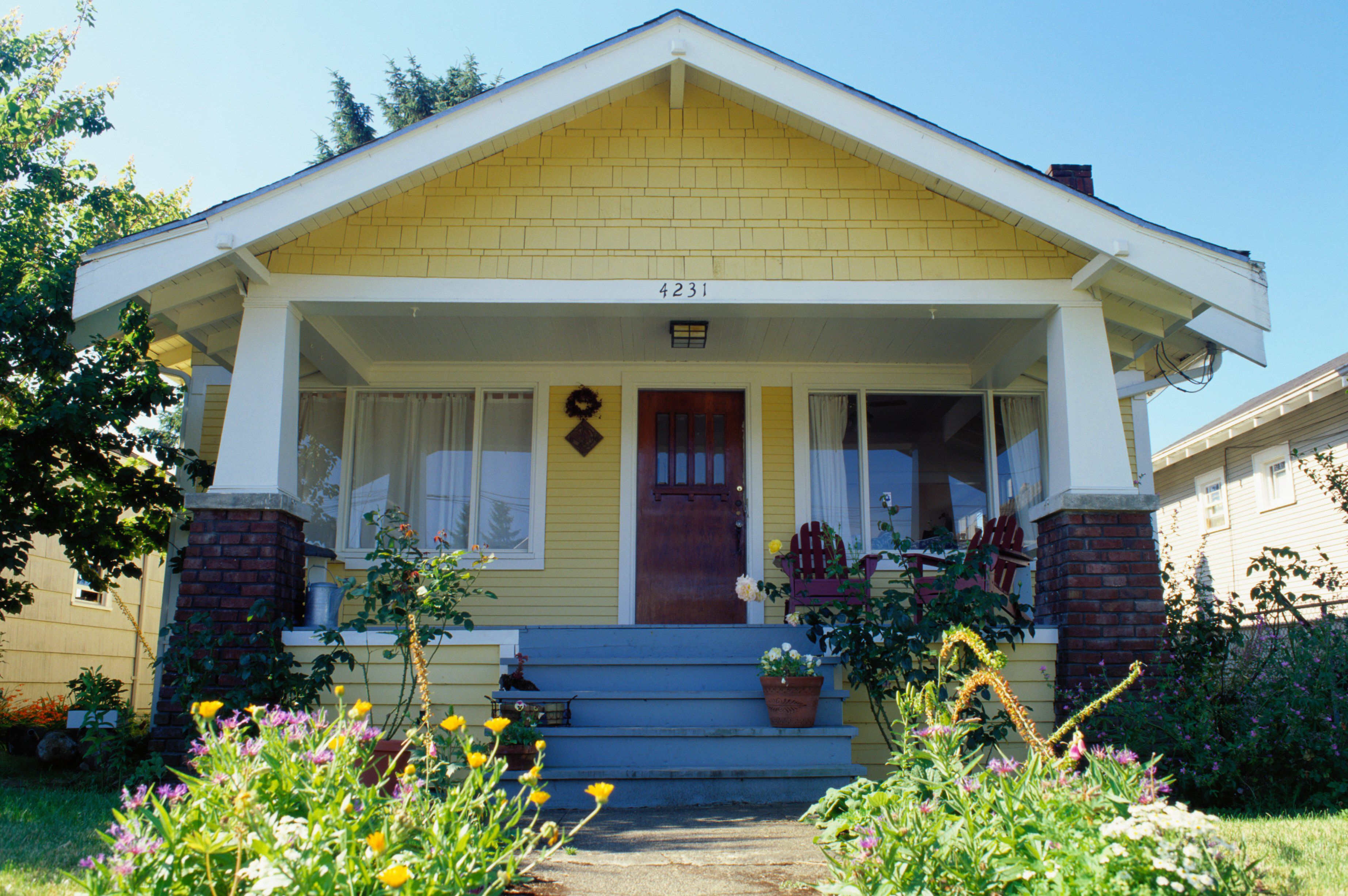 Photos Of Proven Combinations Of Colors For Houses