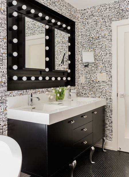 48 Beautiful Black Bathrooms Inspiration Black Bathroom