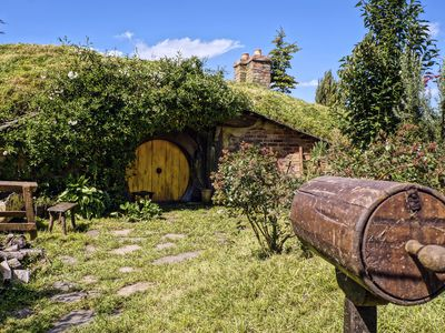 A Hobbit-style tiny home