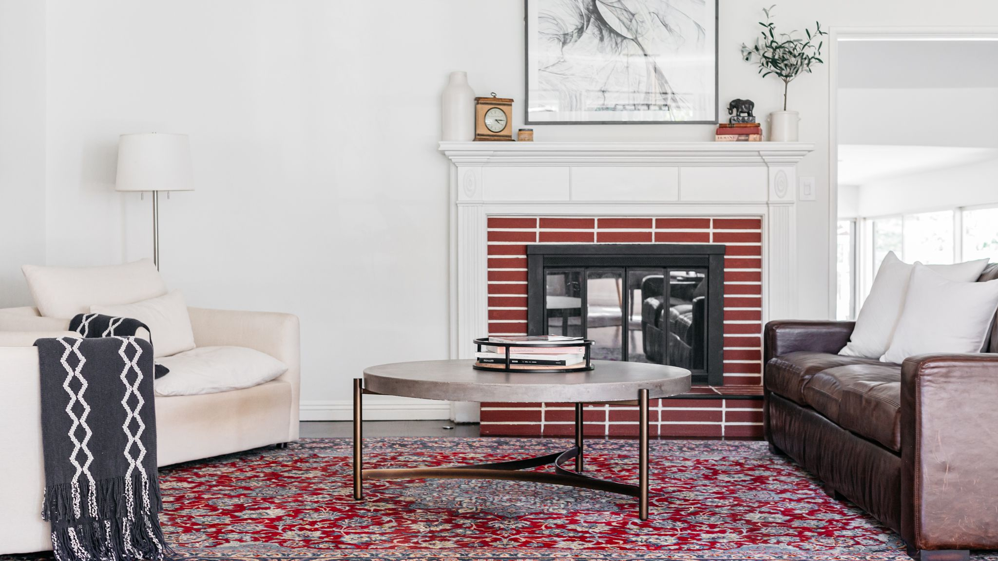 4 Ways to Refresh a Brick Fireplace