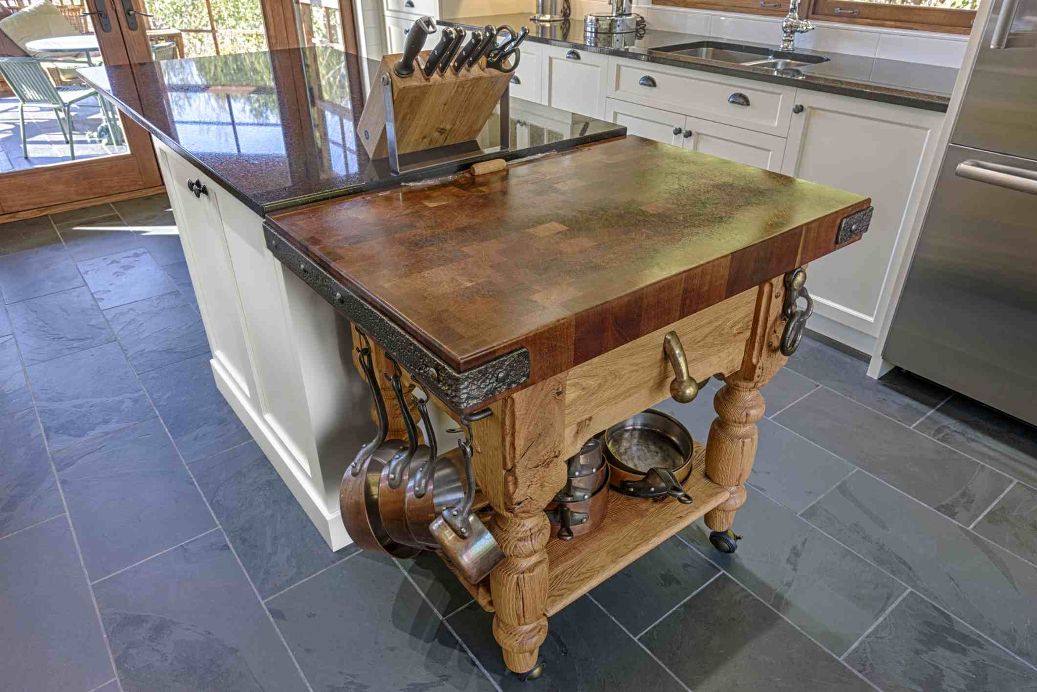 Inspirational Freestanding butchers Block island