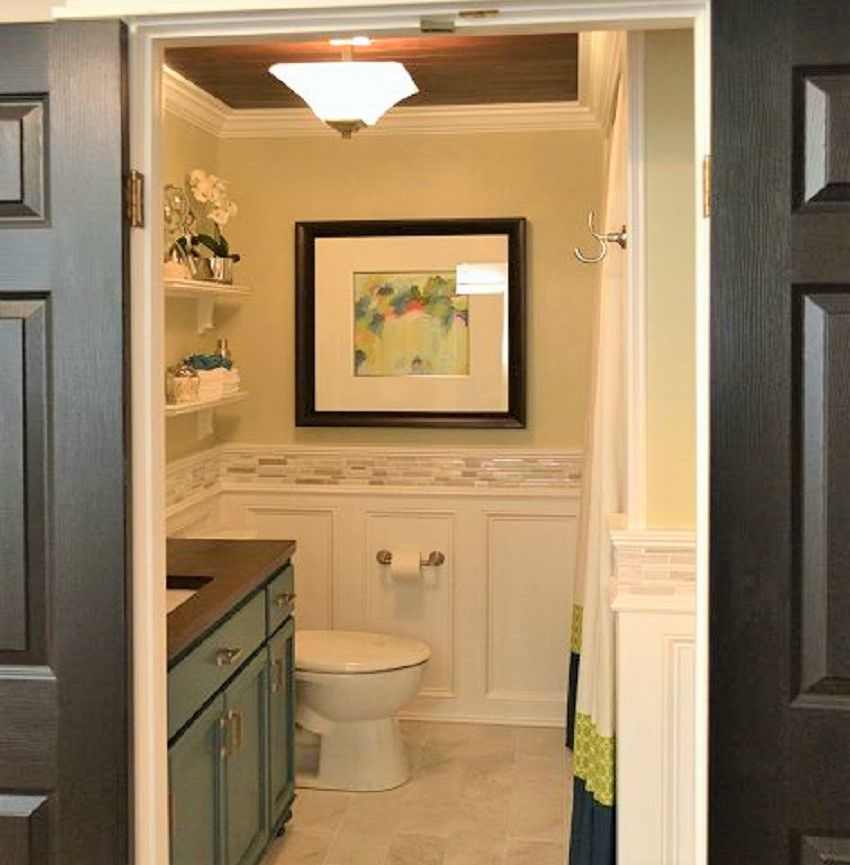 Before And After Bathroom Remodel. Bathroom Remodel Addicted To Decorating After