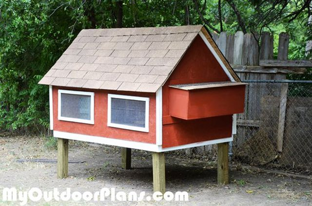 how to build a chicken coop free plans uk