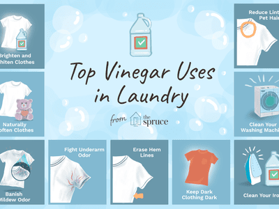 Top 10 Reasons To Add Vinegar Your Laundry
