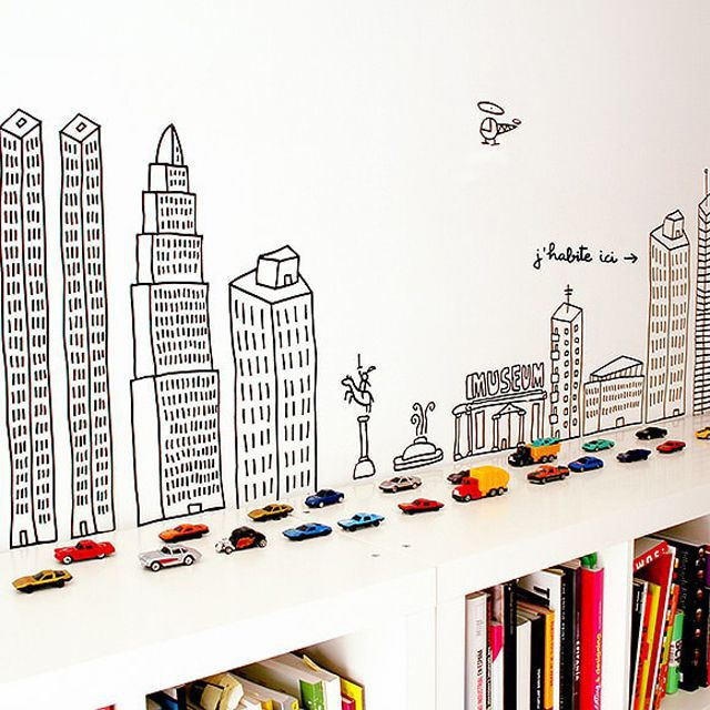 sharpie wall