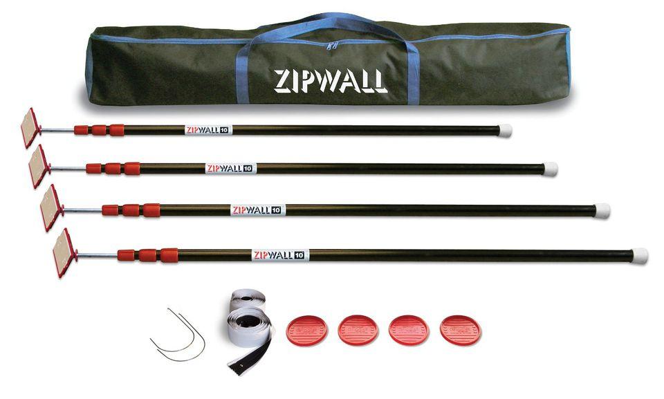 ZipWall Dust Barrier System