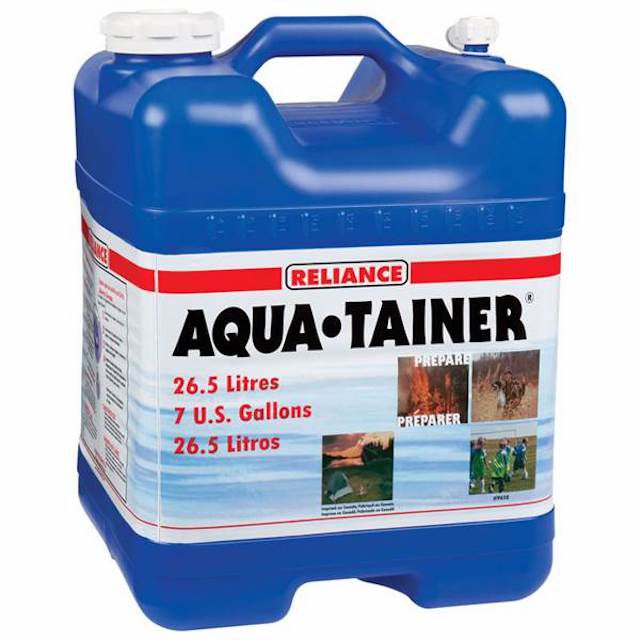 Reliance Products Aqua-Tainer 4 Gallon Rigid Water Container