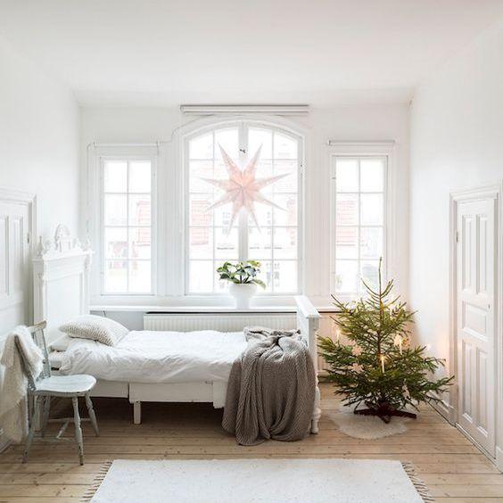 Tiny Scandinavian Christmas tree