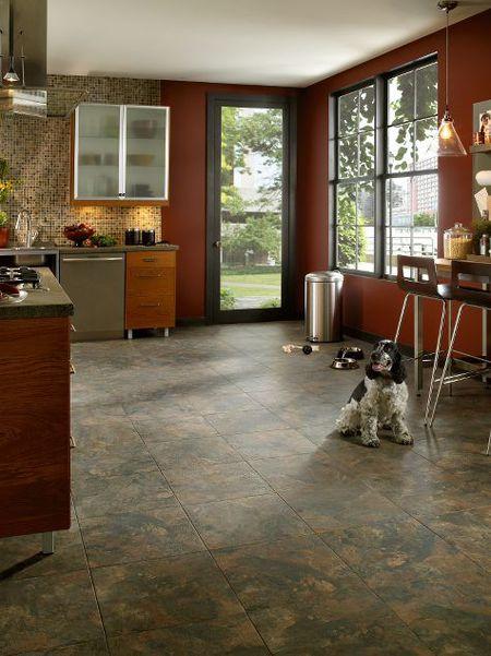 Kitchen Floor Tiles That Are Classic Durable And TrendProof - Armstrong parquet vinyl floor tiles