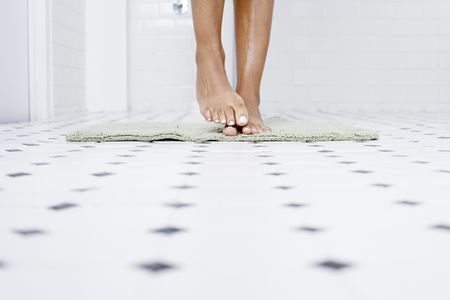Transforming A Bathroom With Self Adhesive Floor Tiles
