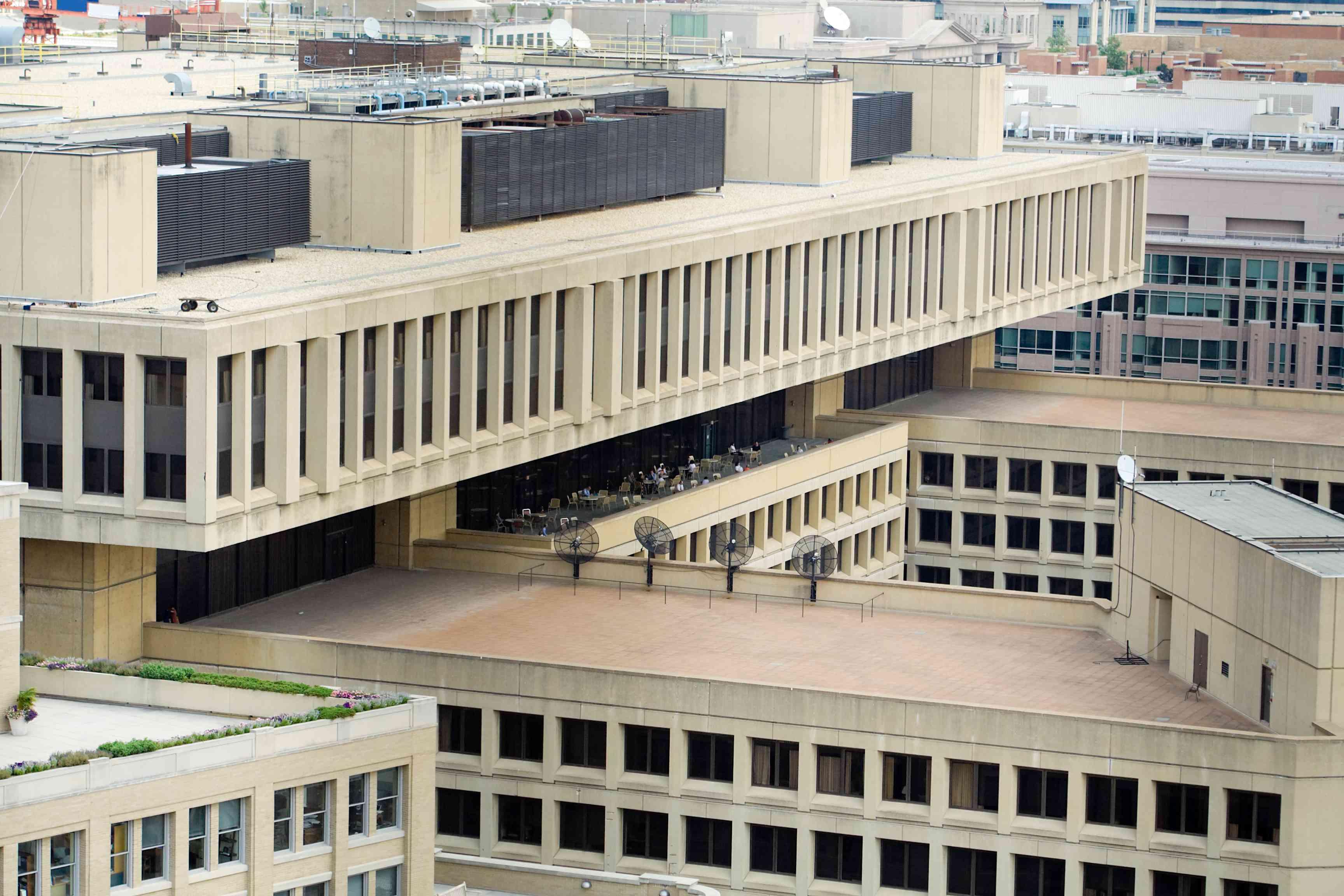 J Edgar Hoover FBI Building, Washington, DC