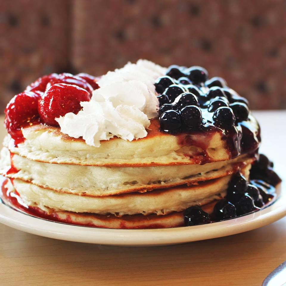 Red, White, and Blue Pancakes from IHOP