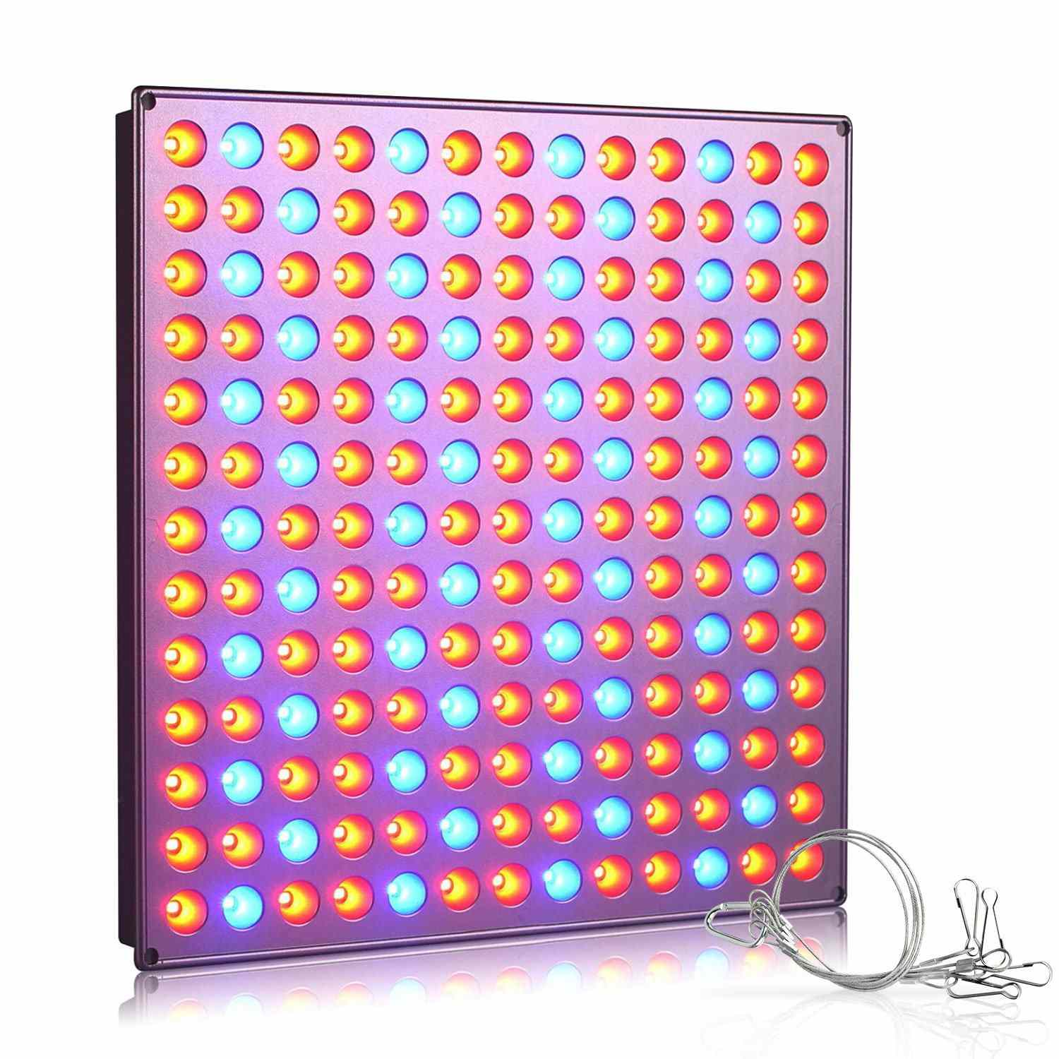 Roleadro LED Grow Light, 75W Full Spectrum Grow Lights for Indoor Plants, Plant Light with IR & UV