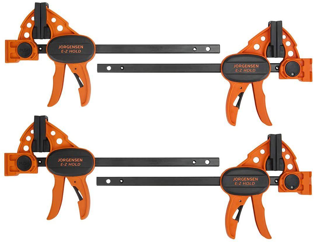 Jorgensen 6-inch Spreader/Bar Clamp Set