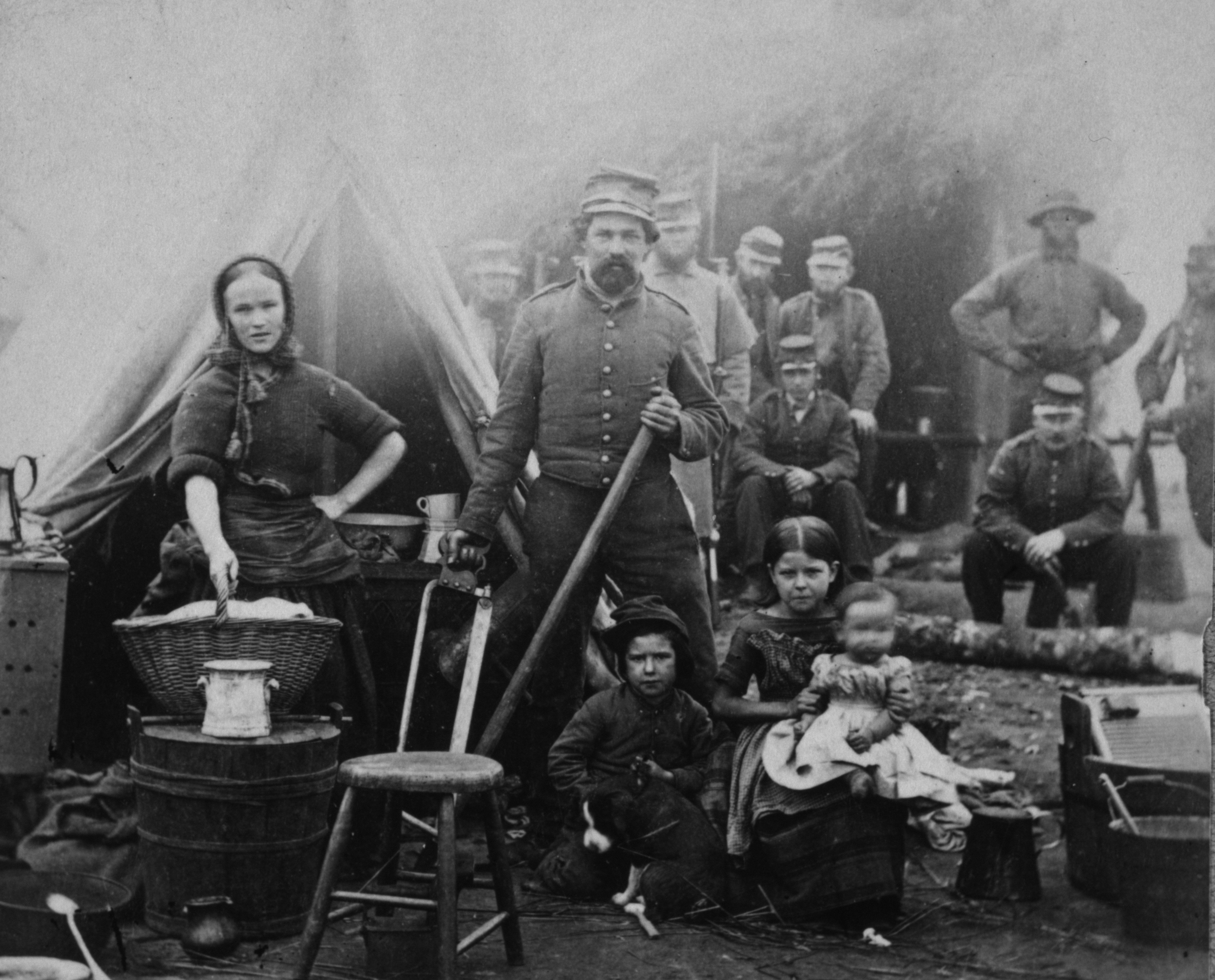 Civil War Laundry