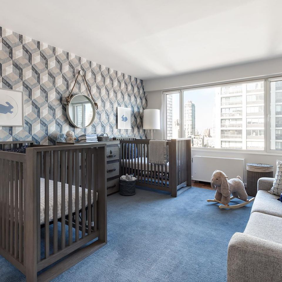 20 Beautiful Baby Boy Nursery Room Design Ideas Full Of: 16 Awe-Inspiring Twin Nurseries