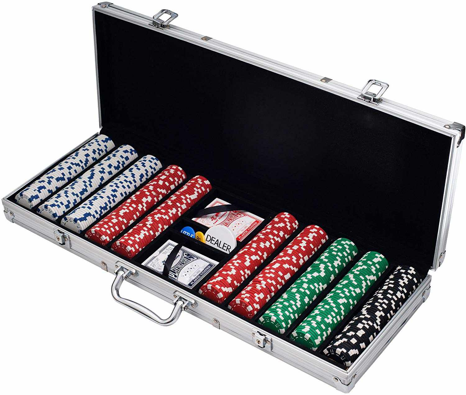 Traditional Poker Chip Set