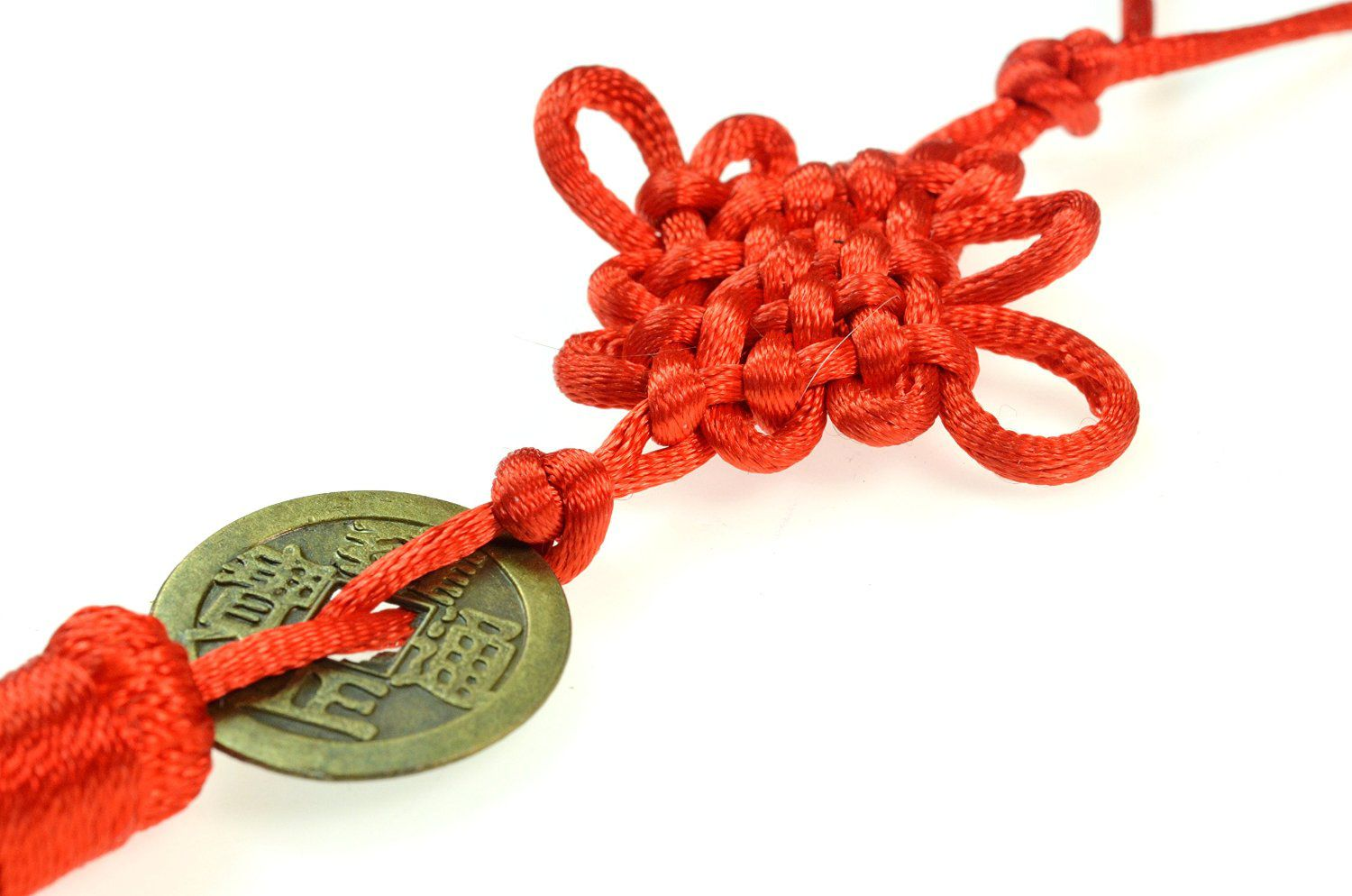 Red Chinese Knot Coin
