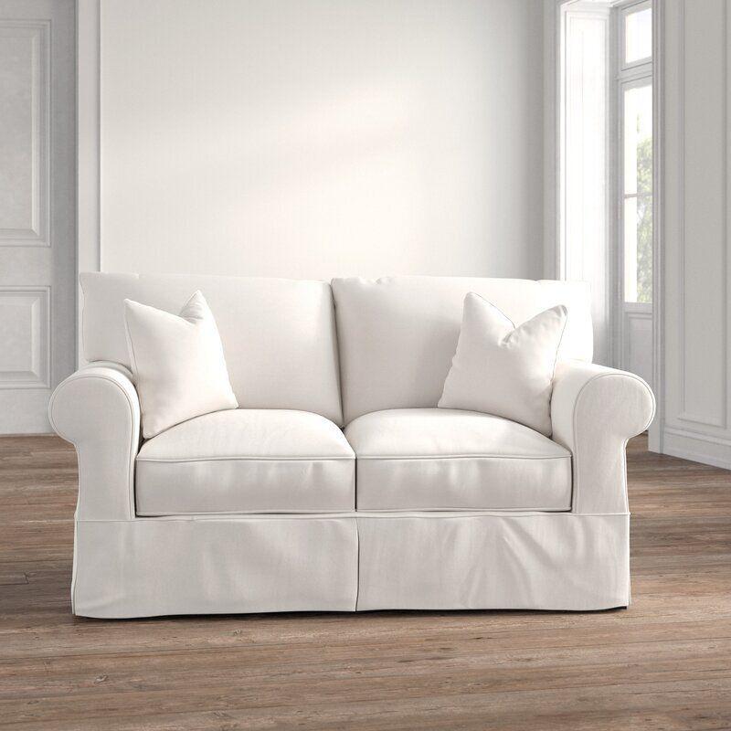 Kelly Clarkson Aubagne 65'' Cotton Rolled Arm Loveseat