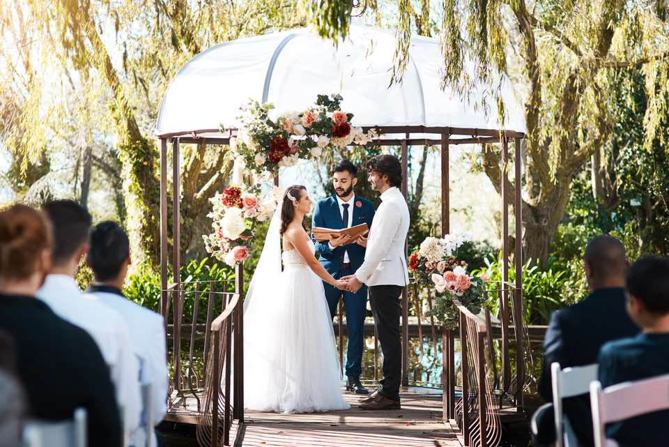 Stepping into holy matrimony