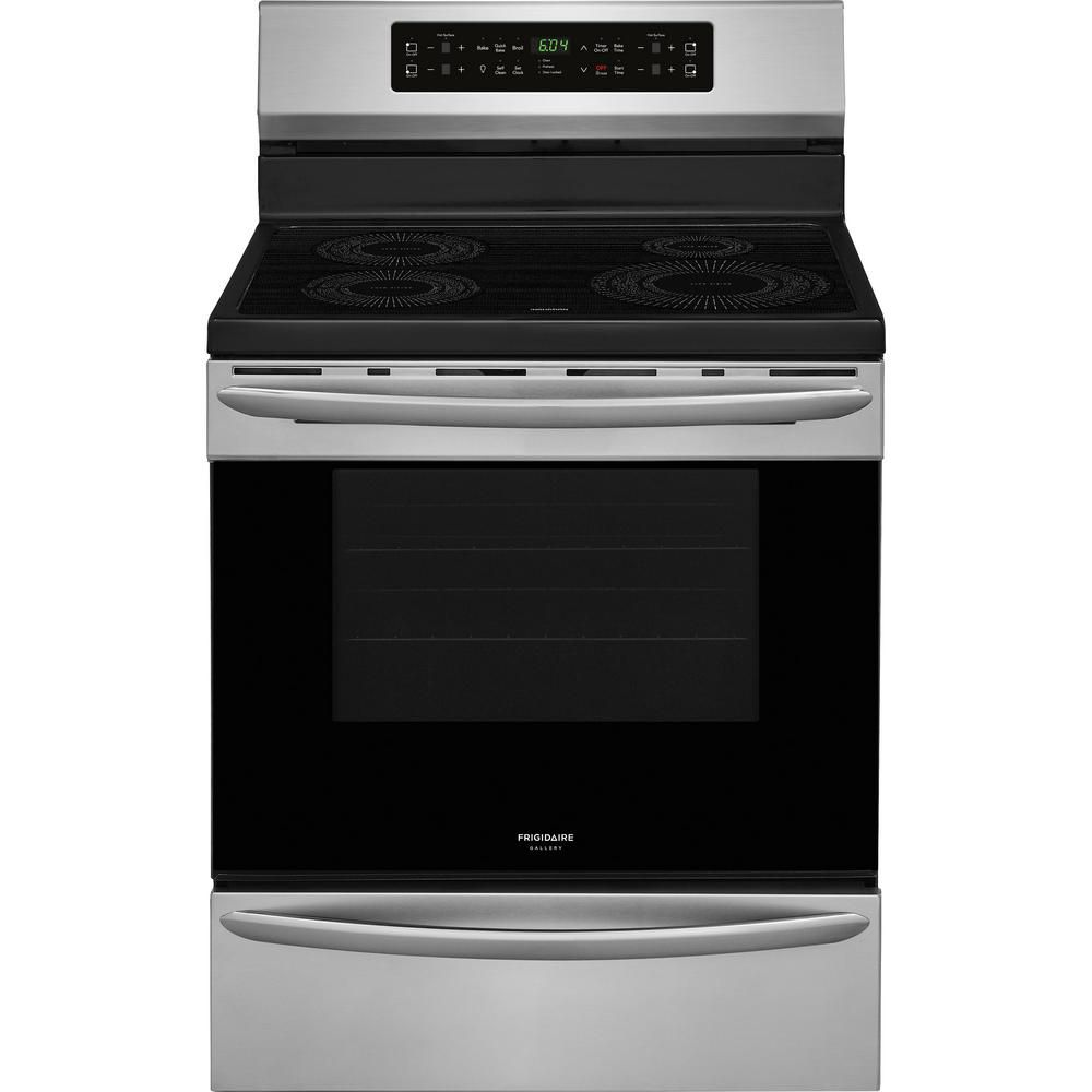 Best Overall Frigidaire Induction Range With Self Cleaning Oven