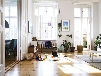 Apartment in sunlight