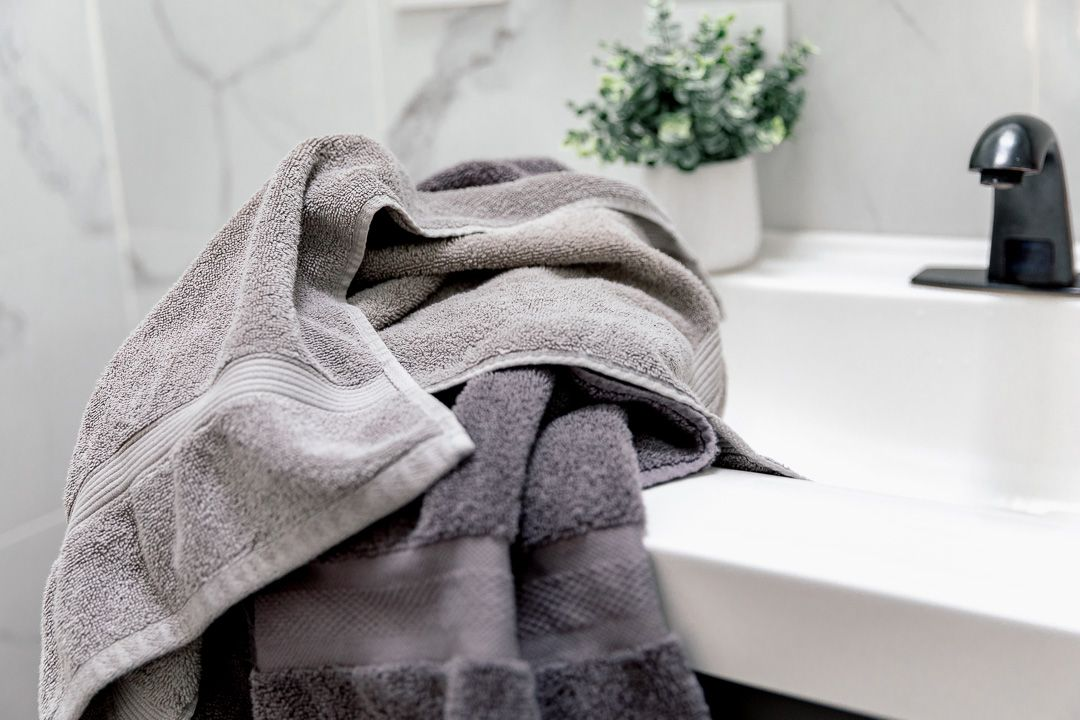 used towels