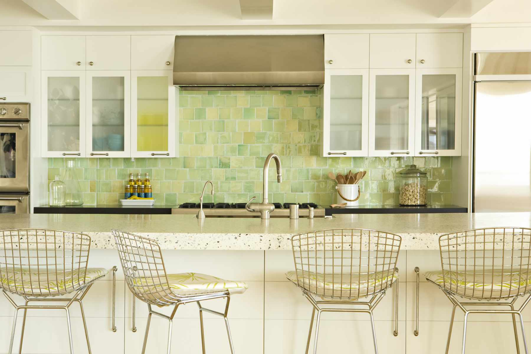 speckled solid surface countertop by Formica