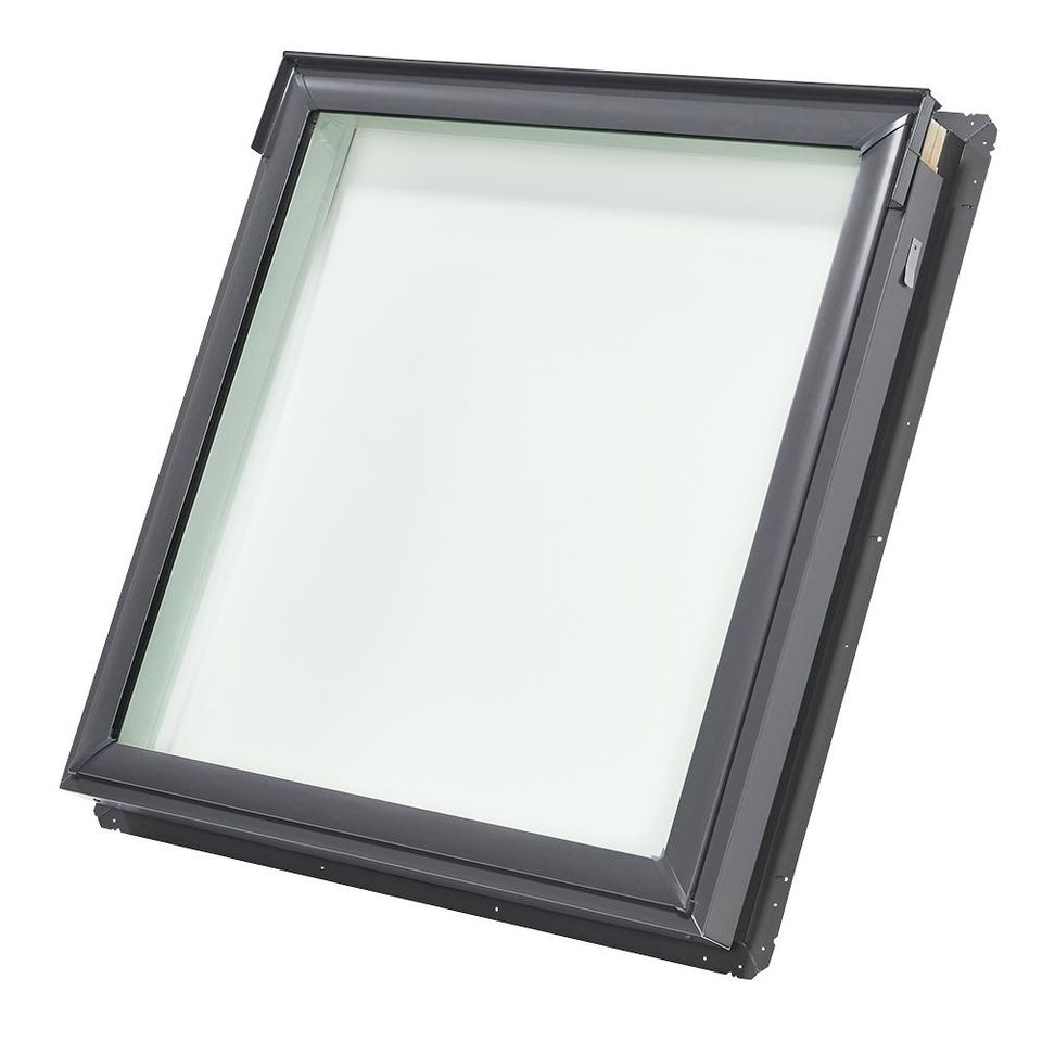 Velux Fixed Deck-Mount Skylight with Tempered Low-E3 Glass-FS S06