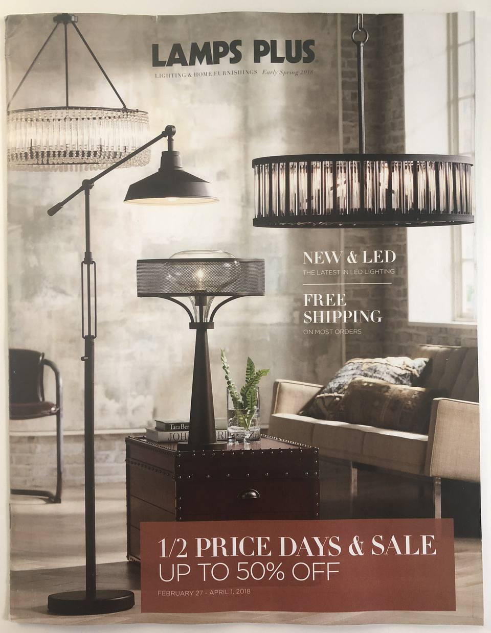 catalogs decor lamps mail upscale