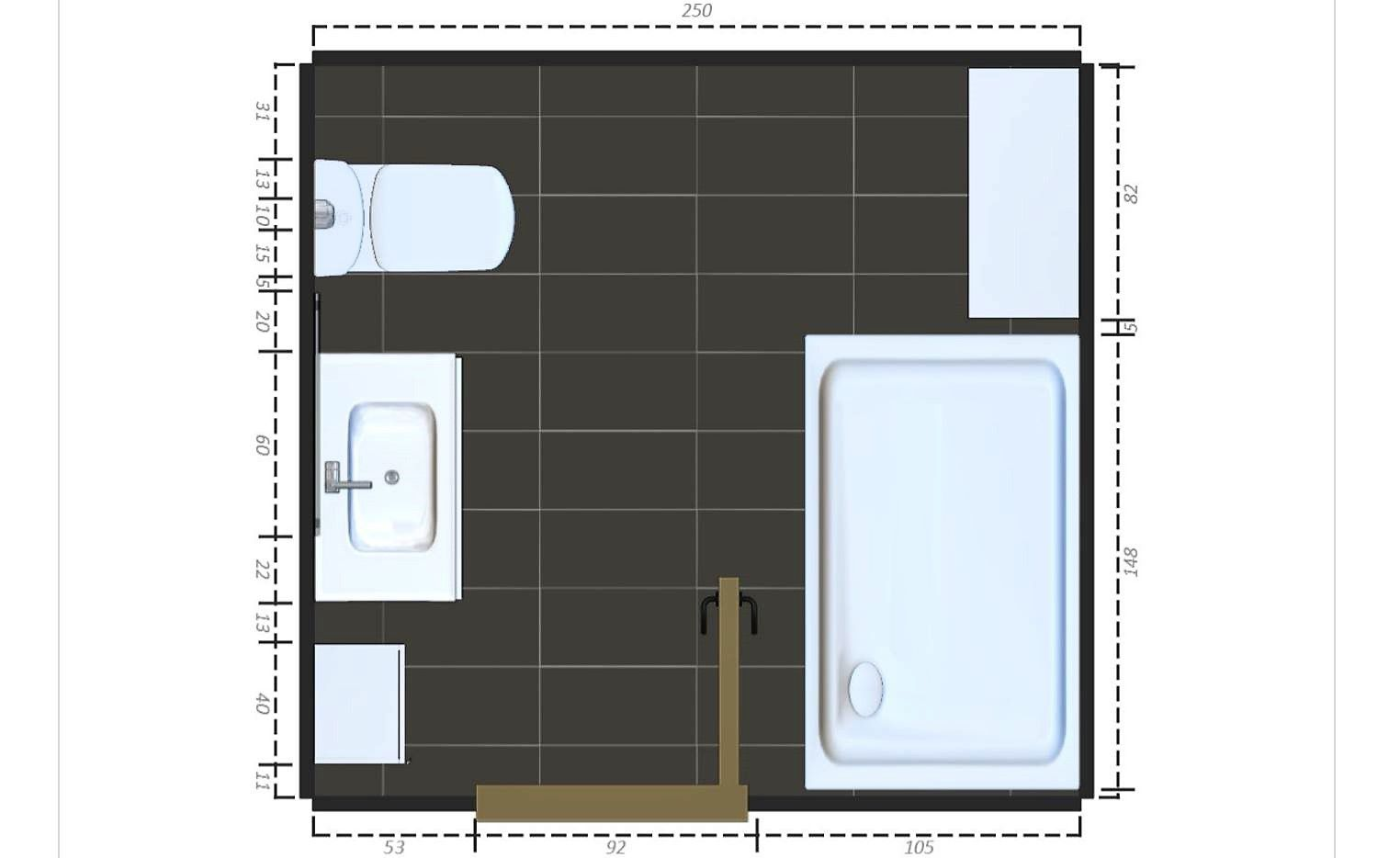 9 Free Sample Bathroom Floor Plans Small to Large