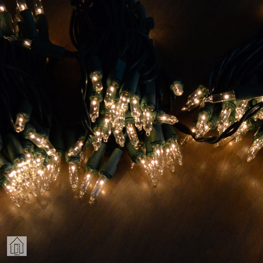 Home Accents Clear 300 Holiday Incandescent Light Set