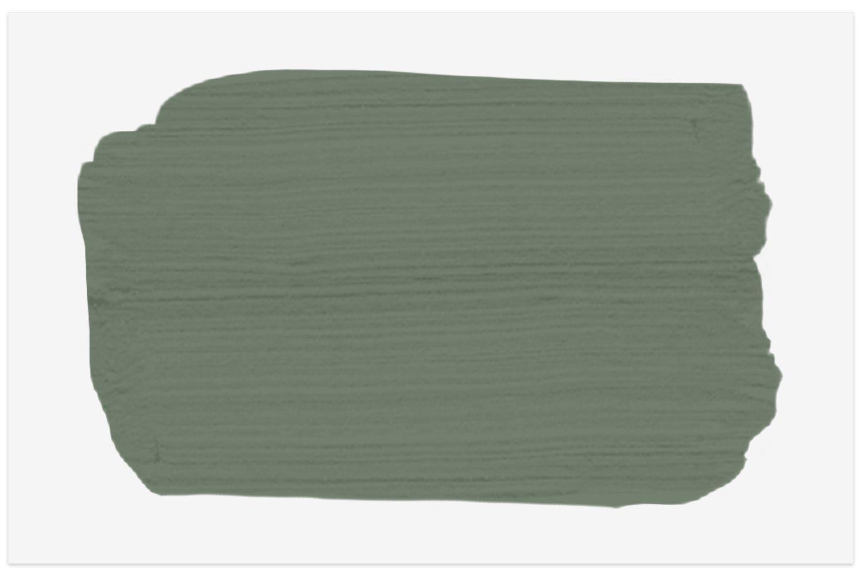 Farrow & Ball Card Room Green No. 79 paint swatch