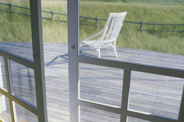 Porch screen door
