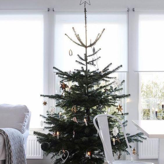 Small modern Christmas tree
