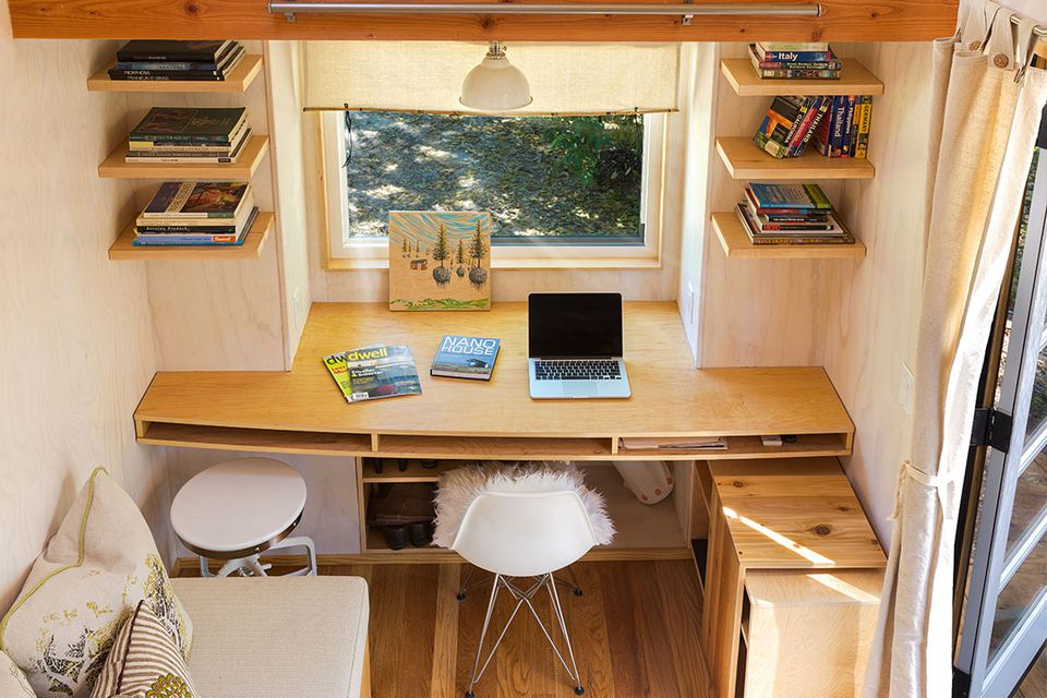 office in house. Home Office In Tiny House E