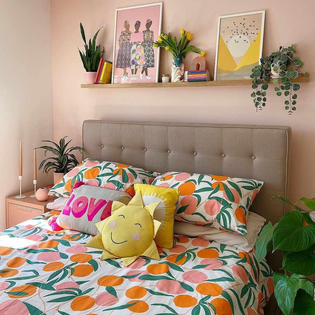bright aesthetic room
