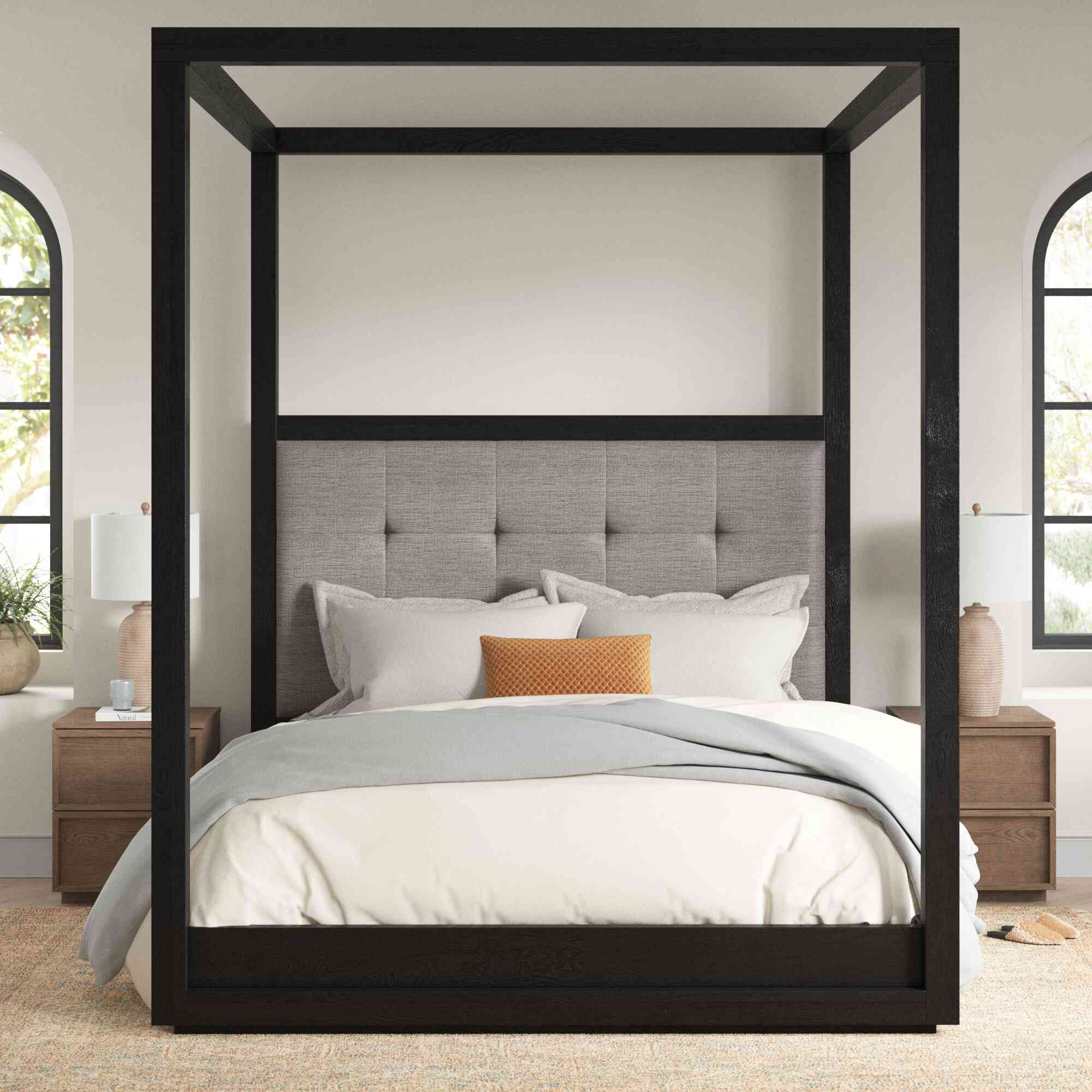Joss & Main Paralimni Canopy Bed