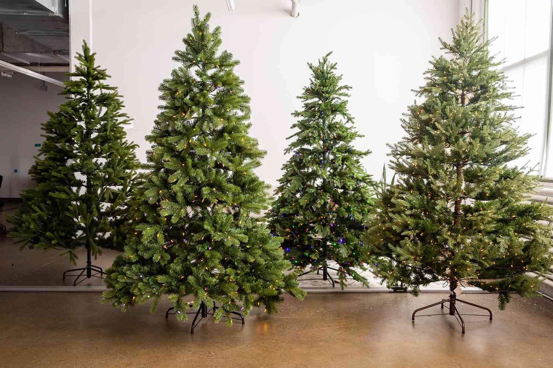 artificial christmas trees testing