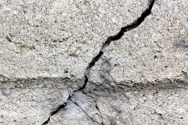 Cracks in Concrete Wall
