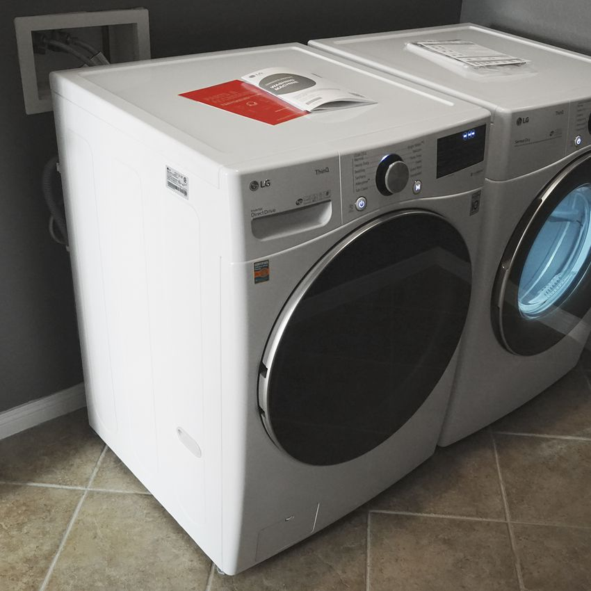 LG Front Load Washer 23