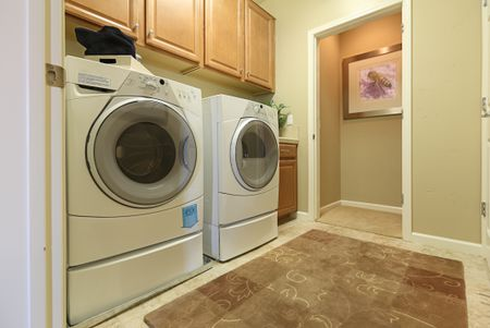 A Residental Laundry Room