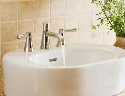 How To Install A Centerset Faucet With PopUp Drain - Price to install bathroom faucet