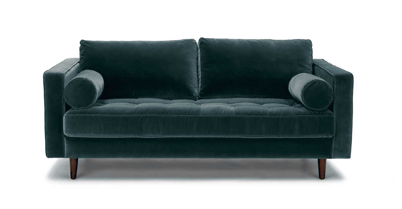 Sven Sofa in Pacific Blue